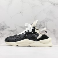 Versace X Y-3 Kaiwa Chunky Y3 Black/ White Sneakers - Best Deal Online