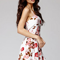 Kendall & Kylie Fit & Flare Halter Dress at PacSun.com