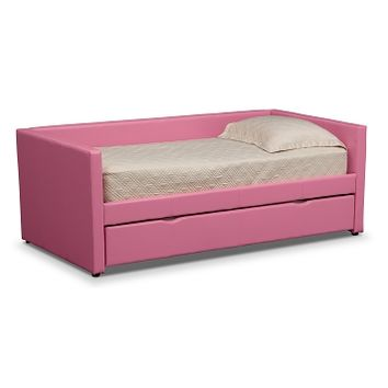 Carey Kids Furniture Twin Daybed with Trundle - Value City Furniture