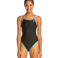 TYR Solid Brites Reversible Diamondfit One Piece Swimsuit at SwimOutlet.com - Free Shipping