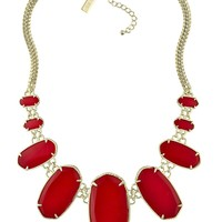 Ginger Statement Necklace in Bright Red - Kendra Scott Jewelry