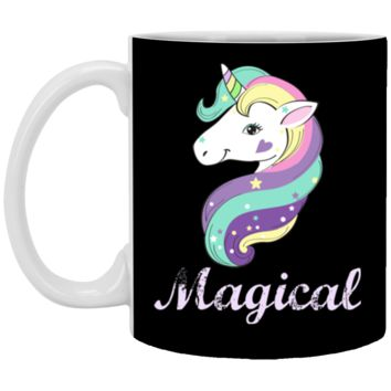Magical Unicorn XP8434 11 oz. White Mug