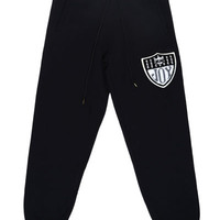 RICH TEAM LOGO SWEAT PANTS / BLACK