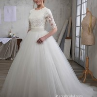 Beautiful Modest Lace & Tulle