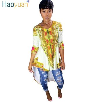 New Summer Dashiki Vintage African Print Dresses