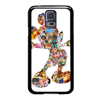 mickey mouse silhouette samsung galaxy s5 cases