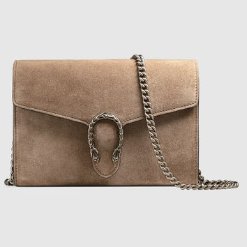 Gucci Dionysus suede mini chain bag