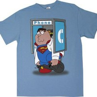 Peter Phone Booth - Family Guy T-shirt