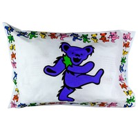 Grateful Dead - Dancing Bears Pillow Case