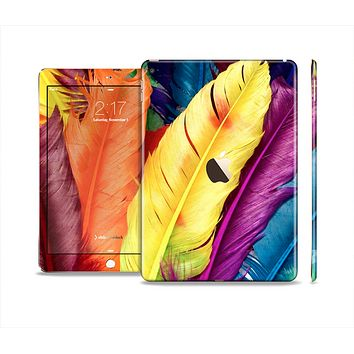 The Hd Color Feathers Skin Set for the Apple iPad Air 2