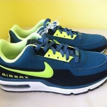 Nike Air Max Mens Running Shoes Sz 11.5 Night Factor Volt Black White 407979-371