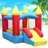 Children Inflatable Bouncy Castle Slide