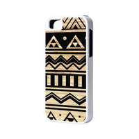 Retro Aztec iPhone 6 Plus 6 5S 5 5C 4 Rubber Case