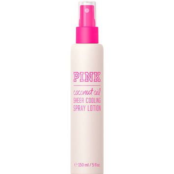Coconut Oil Sheer Cooling Spray Lotion - PINK - Victoria's Secret