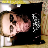 American Horror Story skull Tate Styles - Pillow Cover and Pillow Case.