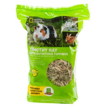 National Geographic™ Nutritious Topping Timothy Hay Small Pet Food