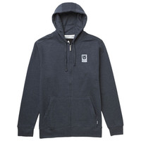 Burton: Rockford Recycled Full-Zip Hoodie - Heather Eclipse