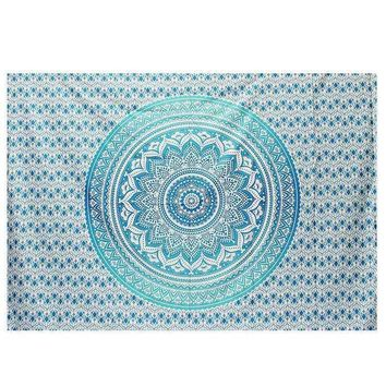 New Indian Tapestry Wall Hanging Mandala Throw Gypsy Cover Bohemian Dorm Deco Picnic Throw Towel Yoga Mat Blanket