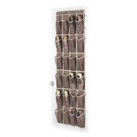 Whitmor 6351-1253-JAVA Fashion Color Organizer Collection Over-the-Door Shoe Organizer, Java