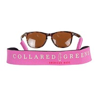 Sunglass Straps in Pink by Collared Greens