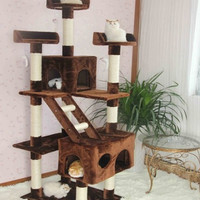 three-dimensional cat litter cat climbing frame multi-layer cat tree cat scratch board