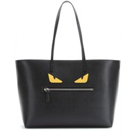 fendi - roll leather shopper