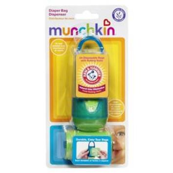 Munchkin Arm & Hammer Diaper Bag Dispenser & Bags