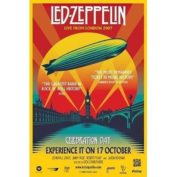 Led Zeppelin Celebration Day Poster Standup 4inx6in