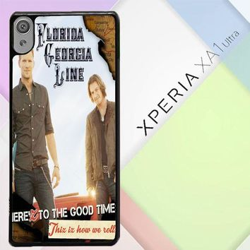Florida Georgia Line X0353 Sony Xperia XA1 Ultra Case
