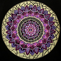 Pink and Purple Mandala
