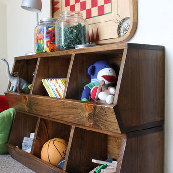Cubby Storage Shelves - Woodworking Plans