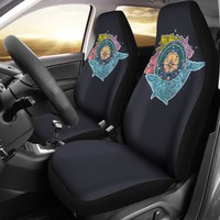 Artsy Compass Car Seat Covers