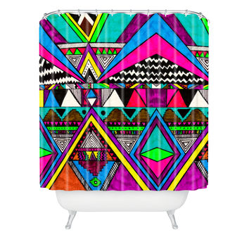 Kris Tate Tribal 1 Shower Curtain