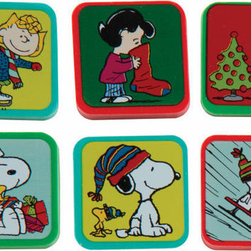 Peanuts Holiday Character Eraser 48/Box Case Pack 48