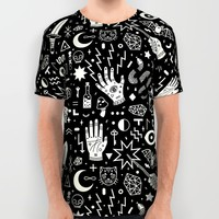 Witchcraft All Over Print Shirt by LordofMasks