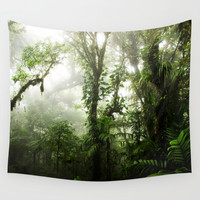 Cloud Forest Wall Tapestry by Nicklas Gustafsson