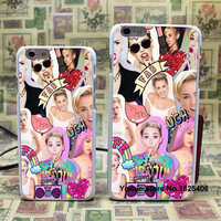 Miley Cyrus Collage Glitter Case for iPhone 6 6s 6plus