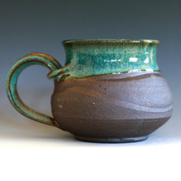 a Large Coffee Mug Holds 19 oz handmade ceramic cup by ocpottery