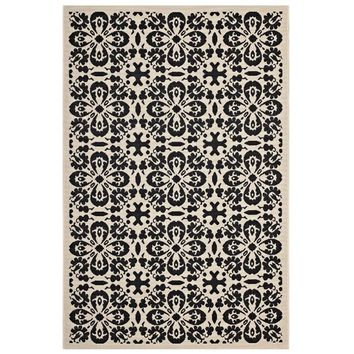 Ariana Vintage Floral Trellis 8x10 Indoor and Outdoor Area Rug - R-1142E-810