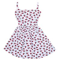 Juicy Fruit Cutout Bow Tie Back Dress – Bonne Chance Collections