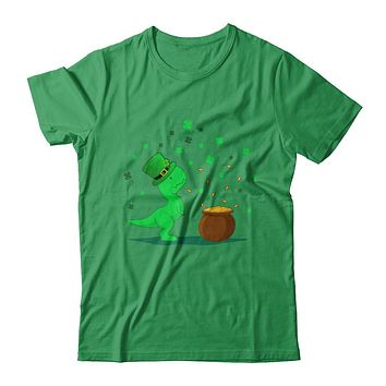 Lucky Dinosaur T-Rex St Patrick's Day Gift