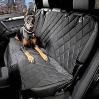 Car Pet Seat Covers Waterproof Back Bench Seat 600D Oxford Car Interior Travel Accessories Car Seat Covers Mat for Pets Dogs