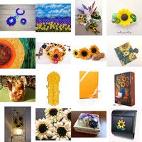 Etsy Sunflowers