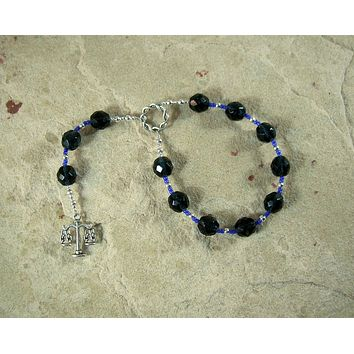 Forseti Pocket Prayer Beads: Norse God of Law, Mediation, Compromise and Justice