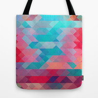 TRIANGLE 2 Tote Bag by Hands In The Sky