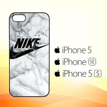 Nike logo marble Z5290  iPhone 5|5S|SE Case