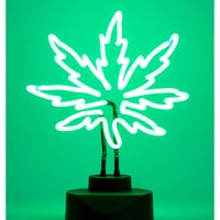Pot Leaf Neon Light