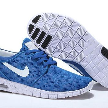"""Nike SB Stefan Janoski Max"" Unisex Sport Casual Small Air Cushion Sneakers Couple Run"
