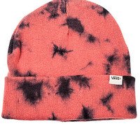 The Tie Dye Beanie in State Rose
