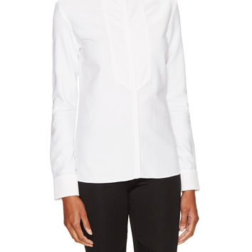 Cotton Winged Collar Shirt